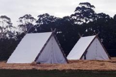 viking period tents