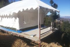 Luxury Swiss cottage tents