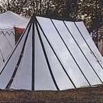 Wedge Medieval tents