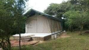 jungle safari tent semi deluxe