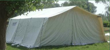 Hospital frame tent 1