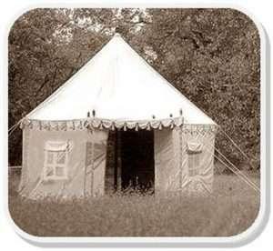 The Bhurj Indian Tent