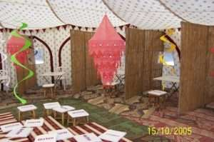 arabian nights party tent 2