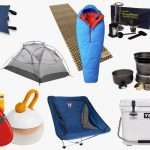 camping and hiking gear for sale