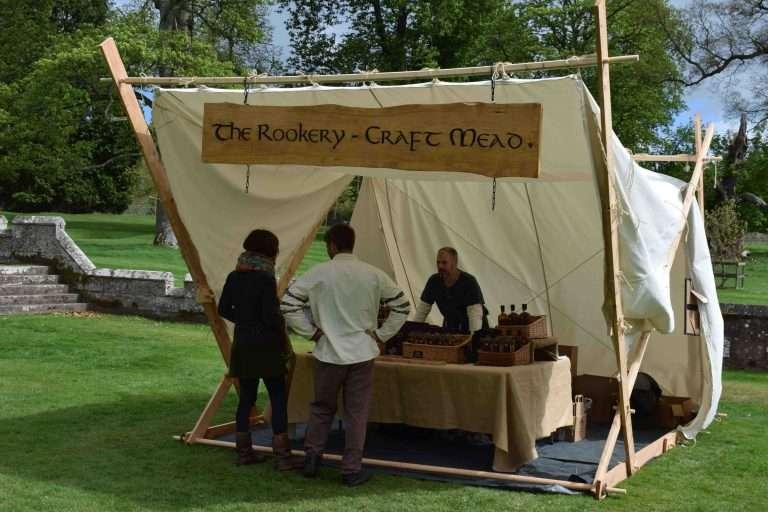 viking stall tent